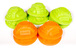 AX12014 Gate Marker Set Green/Orange (10)