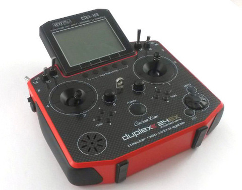 DS-16 Carbon Red 2.4 GHz Jeti Multimode