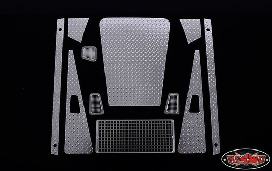 Diamond Plate Accessory Pack for Defender D90 Body