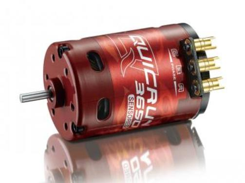 QuicRun Brushless Motor 3650 1900KV 17.5T Sensored für 1/10