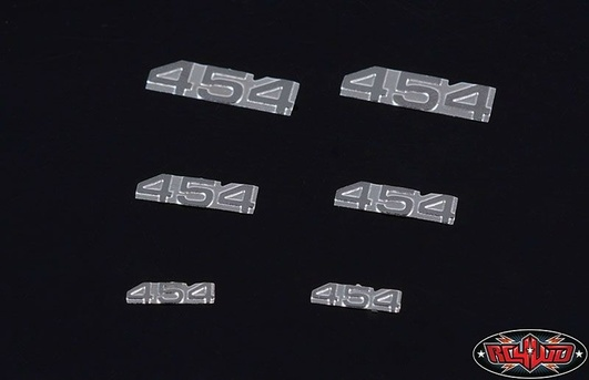 RC4WD 1/10 454 Emblem Set