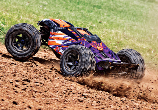 TRAXXAS E-Revo BL 2.0 4x4 VXL purble RTR ohne Akku/Lader 1/8 4WD Racing Truck Brushless