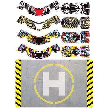 Upgrade FAZE capottina set due con helipad (4 capottine)