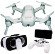 "Yuneec Breeze RTF ""my flying 4K-UHD-camera"" 1x Akku, Combo inkl. FPV Brille und Controller"